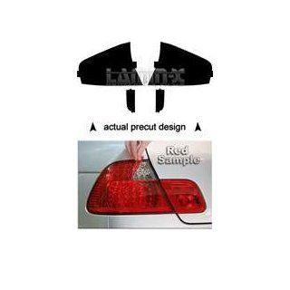 Subaru Legacy Sedan 2008 2009 Tail Light Vinyl Film Covers ( RED ) by