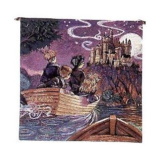 Harry Potters Journey to Hogwarts Tapestry Wall Hanging