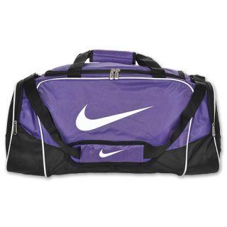 Nike Brasilia 4 Medium Duffel Bag Varsity Purple