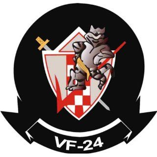 US Navy VF 24 Fighting Renegades Squadron Decal Sticker 3.8