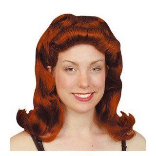 Pams Female Wigs Long  40S Pin Up Girl (Auburn): Toys