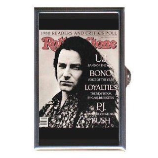 BONO U2 1989 ROLLING STONE Coin, Mint or Pill Box Made in