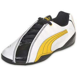 Puma Mens Panigale 50 Mega White/Black/Yellow