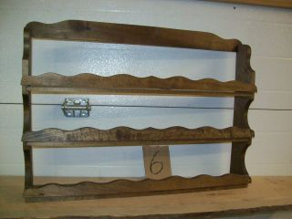 spice rack nail polish shot glass display organizer handmade wood