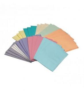 Dusty Rose Pink Medicom Dental Patient Towels Bibs 2 Ply 13 x 18 500