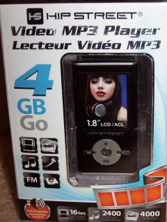to Polaroid 4GB  Player w FM Tuner Voice Recorder Hip Street