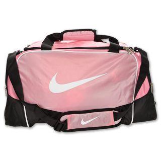 Nike Brasilia 4 Medium Duffel Bag Pink/Black/White