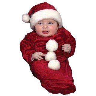 Newborn Baby Santa Claus Christmas Costume (0 6 Months