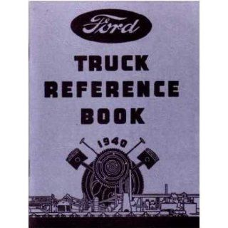 1940 FORD TRUCK V 8 V8 Car Owners Manual User Guide :