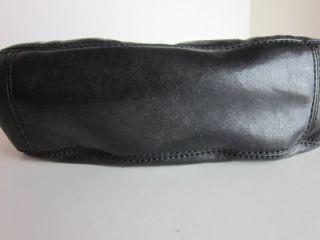 Michael Kors  Leather Lily Hobo Handbag Black Retail $248.00