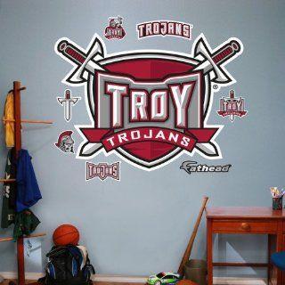 Troy University Logo Wall Decal 51 x 37 cm