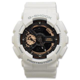 Casio G Shock Extra Large Watch White/Black/Gold