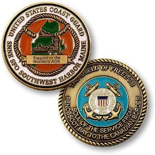 Coast Guard SFO Southwest Harbor Maine Challenge Coin