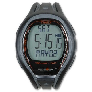 Timex Ironman Tap Sleep 150 Lap Watch Black