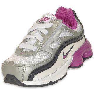 Nike Toddler Shox Turbo 9 Running Shoe White