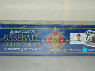 1992 Donruss Major League Collector Set 784 Premium Quality Cards