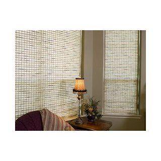 Woven Wood Discount Window Shades   30 x 54