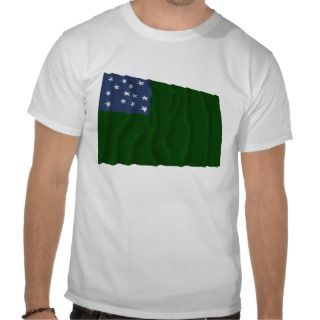 Green Mountain Boys flag Tee Shirts