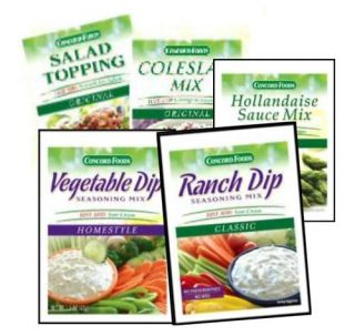 Concord Coleslaw Ranch DIP Salad Toppings Hollandaise