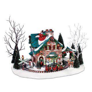 Department 56 Christmas Lane Series Animated Snow Village