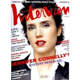 Interview Magazine   February 2004   Jennifer Connellys Mystery