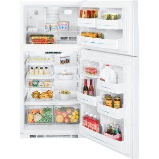 GE 21.7 Cu. Ft. White Top Freezer Refrigerator