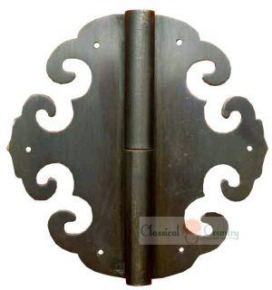 4pc Chinese Door Cabinet Hardware Thicken Hinge 3 1