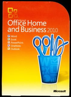 office home business 2010 damaged package microsoft office home and