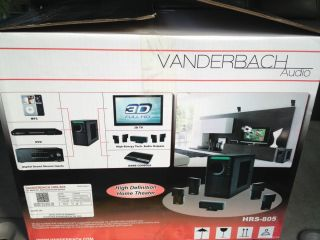 Vanderbach Hrs 805 Home Stereo System 5 1 Multi Channel