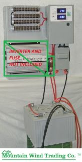 Charge Controller Board 24 Volt for Wind Turbine Generator Solar PV No