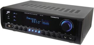New Nippon ZPA600 Home Theater Hybrid Amplifier Am FM Tuner 1500 Watt