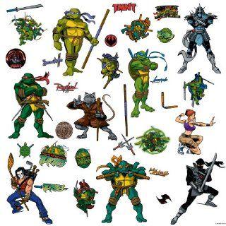 RoomMates RMK1393SCS Teenage Mutant Ninja Turtles Peel & Stick Wall