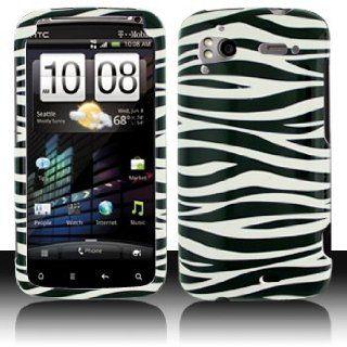 HC Sensaion 4G Black Whie Zebra Case Cover Proecor
