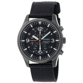 Seiko Mens SNDA65 Chronograph Strap Watch Watches