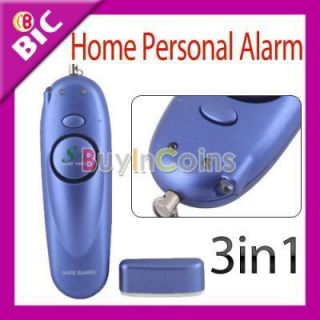 in 1 Home Personal Security Device Alarm with Spot Light Flashing