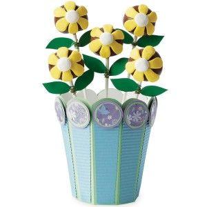 New Wilton Cake Brownie Cookie Pops Gift Flower Pot Box Kit Baking
