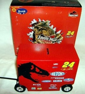 Action 1 16 24 Jurassic Park Jeff Gordon Pit Wagon Box