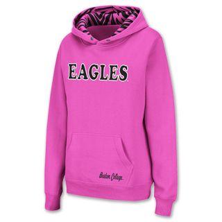 Boston College Eagles NCAA Womens Hoodie Pink
