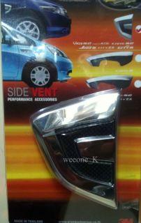 Honda City 08 Chrome Side Lamp Side Vents Cover