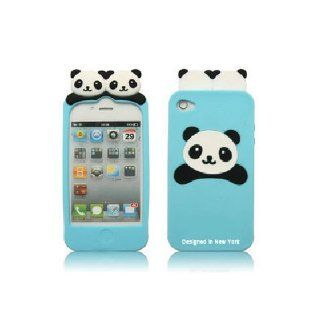Cute PANDA Soft Silicon Back Case Cover skin for iPhone 4