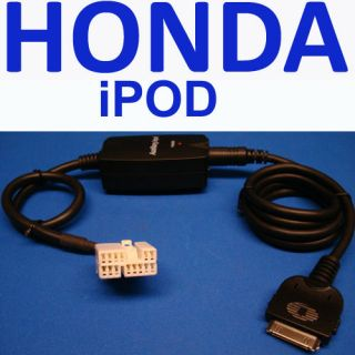 Honda Accord 2004 04 iPod iPhone Aux Input Adapter