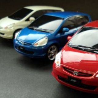GSLOT HONDA JAZZ/FIT RED/BLUE/WHITE 3 Car Combo STREET 132 Slot Car