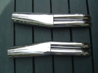 1984 Honda GL1200 Interstate Exhaust Chrome Tips