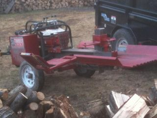 2010 Timberwolf TW5 Log Splitter Low Hours Honda Engine