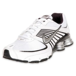 Nike Mens Shox Turbo + VIII Running Shoe White