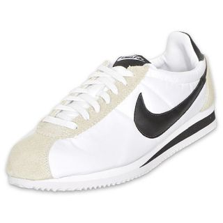 Nike Mens Classic Cortez Nylon 09 Shoe White/Black