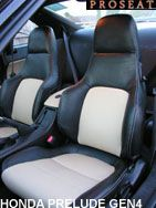 Leather Seat Covers Honda Euro Accord Prelude CRX Civic