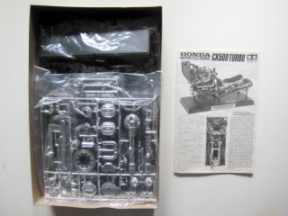 Tamiya 1 6 Honda CX500 Turbo Motorcycle Engine 1627 Plastic Model Kit