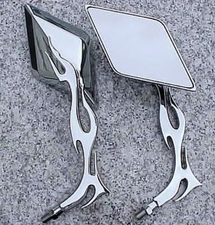 Honda Rebel Shadow 600 VT 750 VTX 1300 1800 Chrome Mirrors
