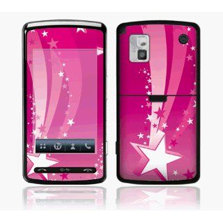 ~LG VU CU920 Skin Decal Sticker   Pink Stars~: Everything